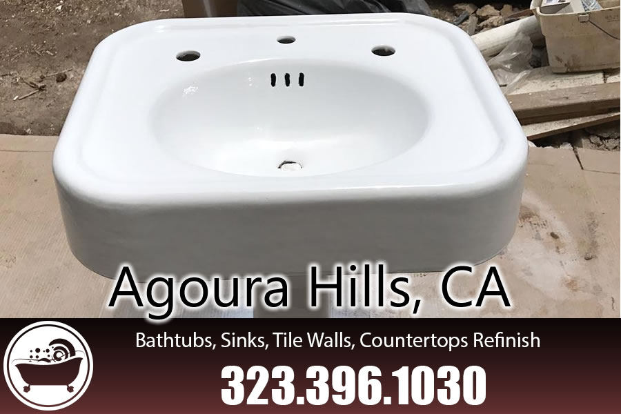 bathtub refinishing reglazing Agoura Hills