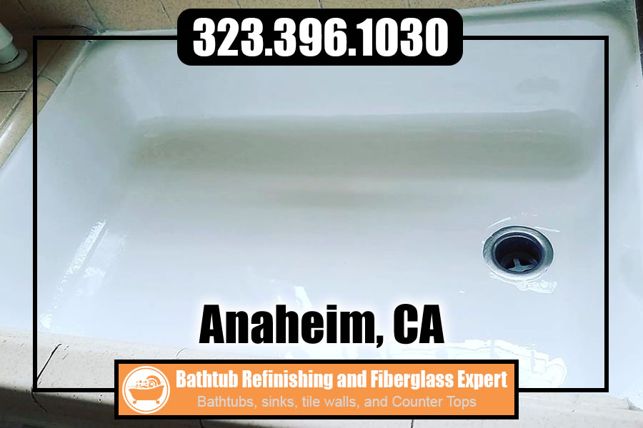 bathtub refinishing reglazing Anaheim