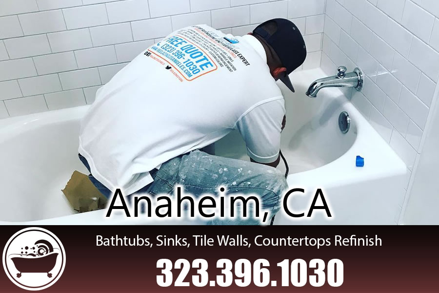 kitchen and bathrubs reglazing Anaheim