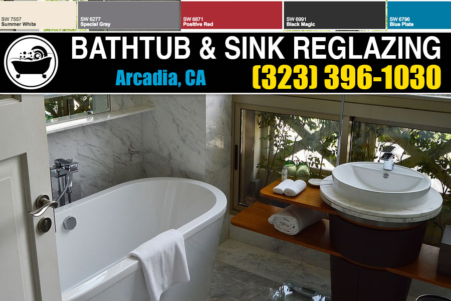 bathtub refinishing reglazing Arcadia