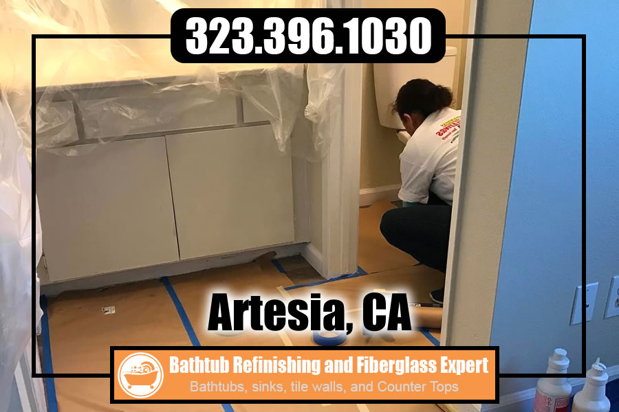 kitchen and bathrubs reglazing Artesia