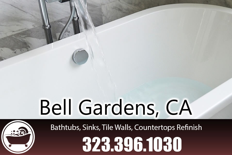 bathtub refinishing reglazing Bell Gardens