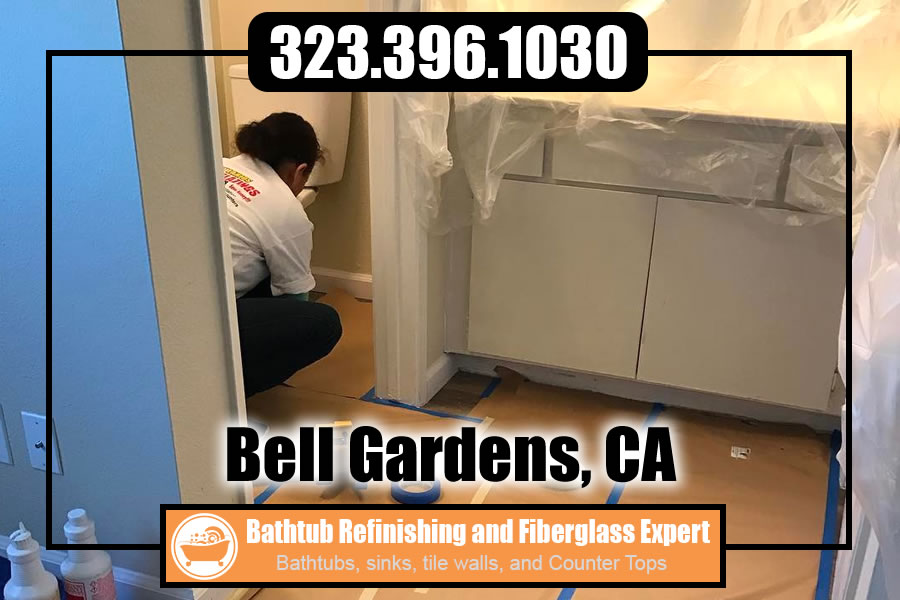 ceramic tile refinishing Bell Gardens california