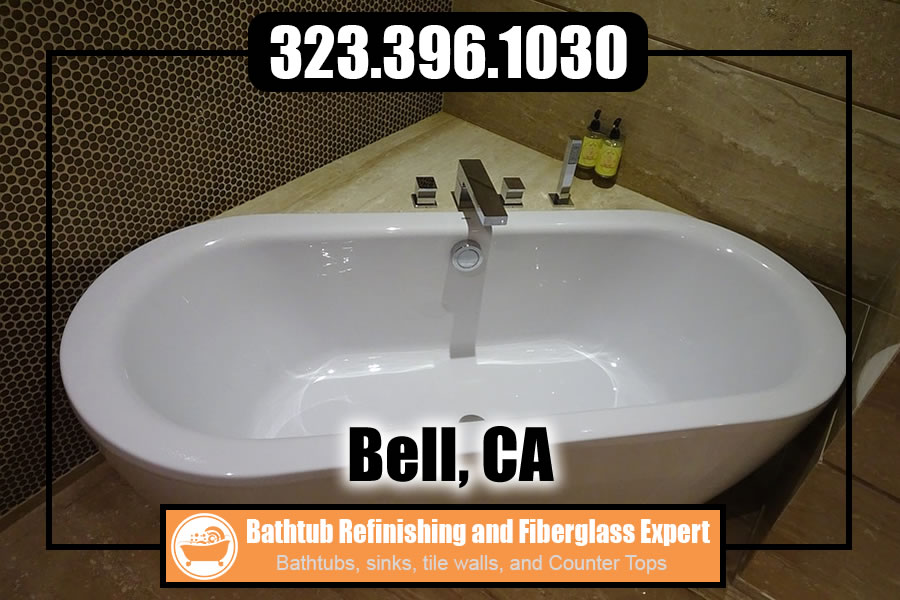 ceramic tile refinishing Bell california