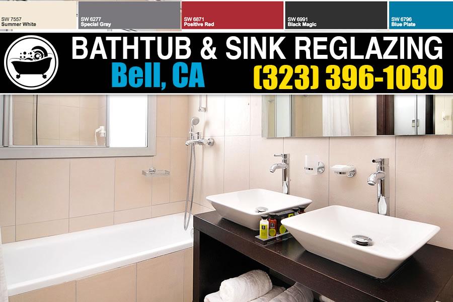 bathtub refinishing reglazing Bell