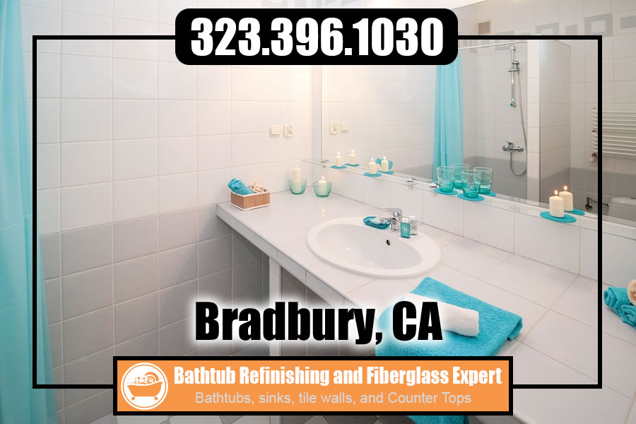 ceramic tile refinishing Bradbury california