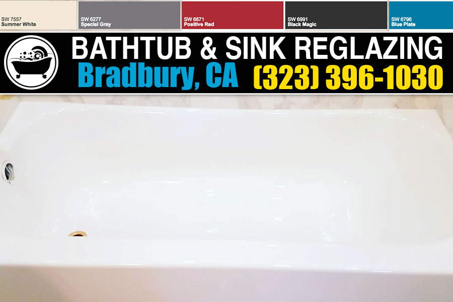 bathtub refinishing reglazing Bradbury