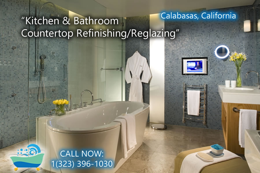 kitchen and bathrubs reglazing Calabasas