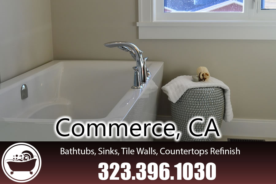 bathtub refinishing reglazing Commerce