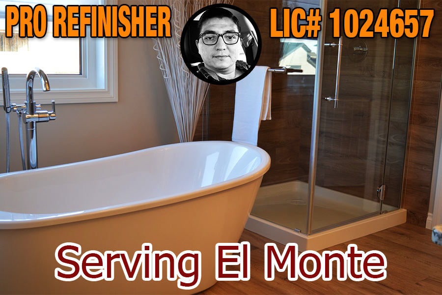bathtub refinishing reglazing El Monte