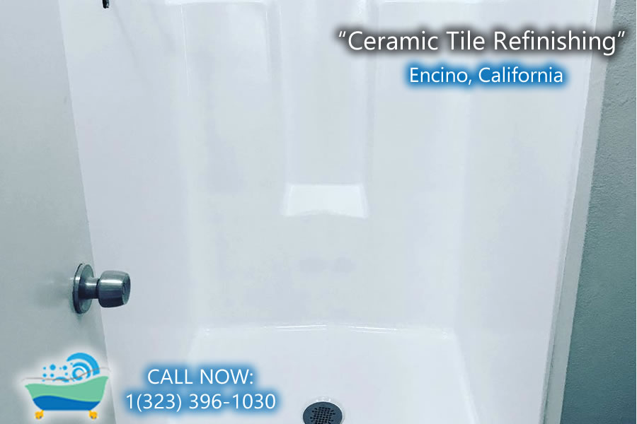 ceramic tile refiinishing Encino california