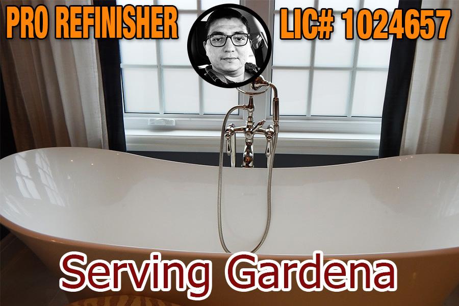 bathtub refinishing reglazing Gardena