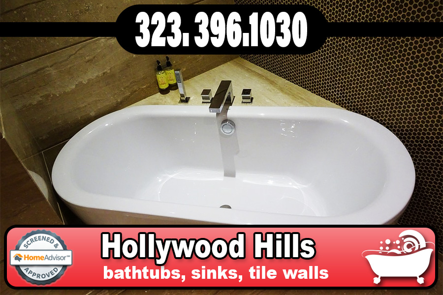 kitchen and bathrubs reglazing Hollywood Hills