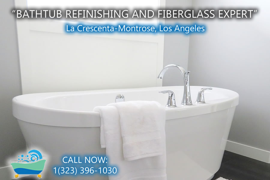 bathtub refinishing reglazing La Crescenta-Montrose