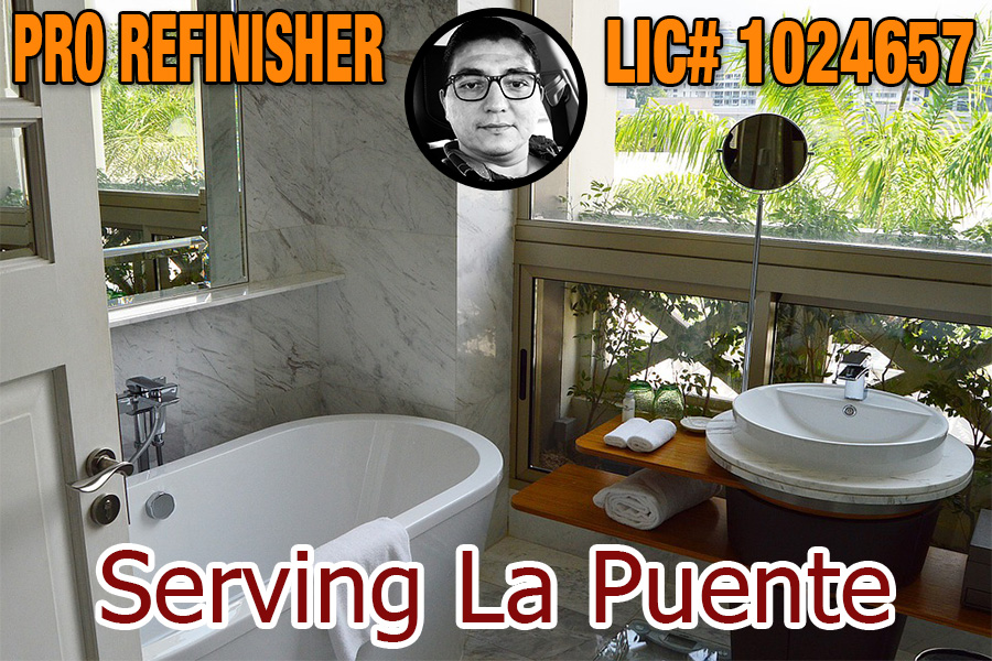 bathtub refinishing reglazing La Puente