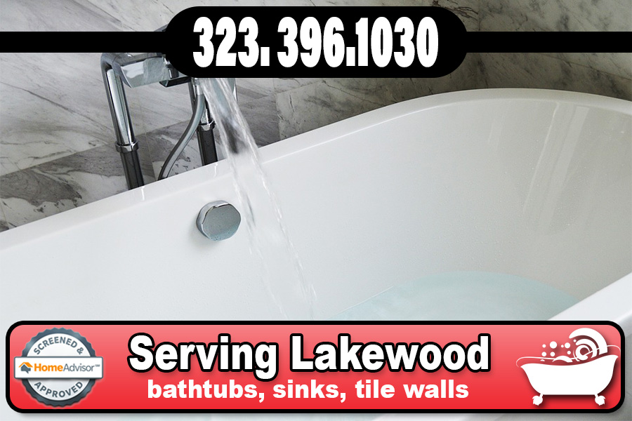 bathtub refinishing reglazing Lakewood