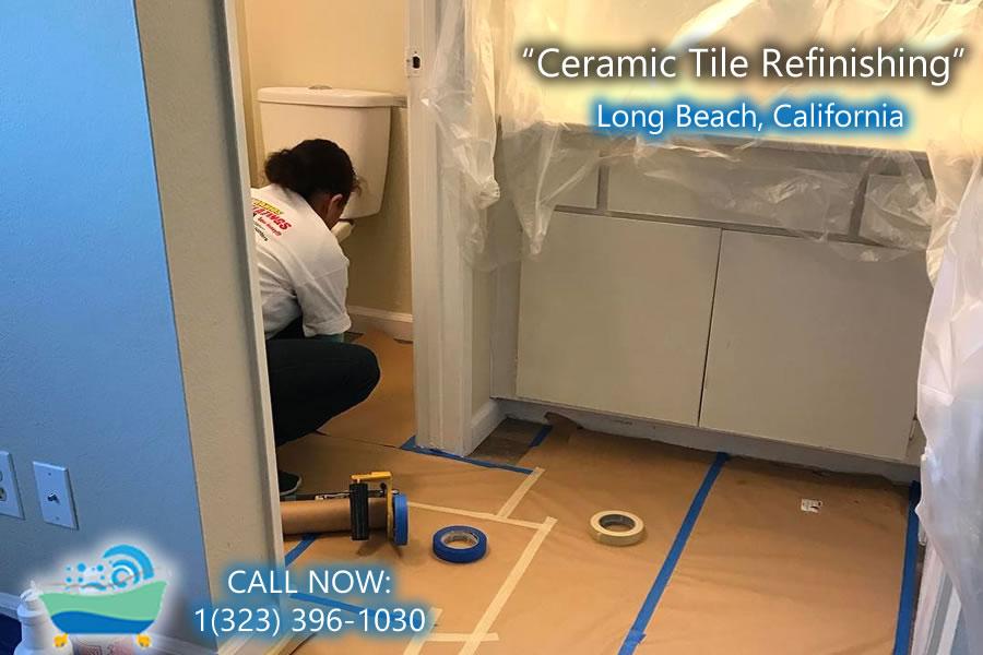 Long Beach Ceramic Tile Refinishing Bathtub Refinishing And