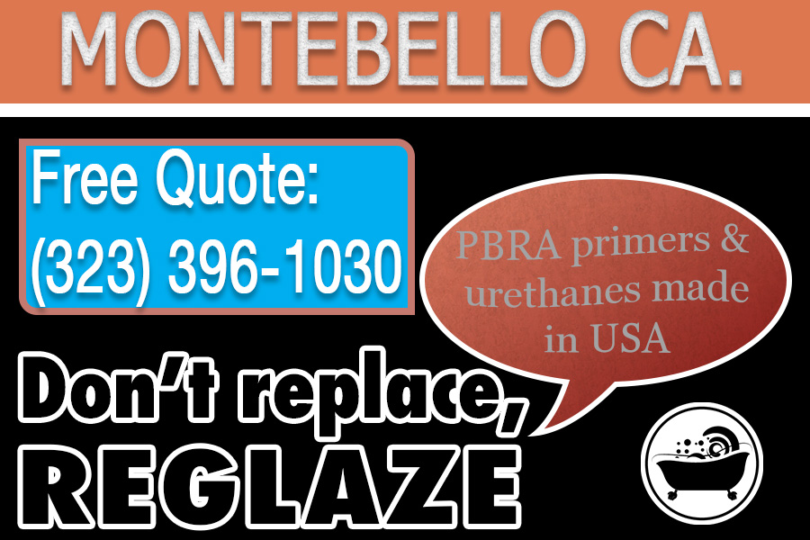 ceramic tile refinishing Montebello california