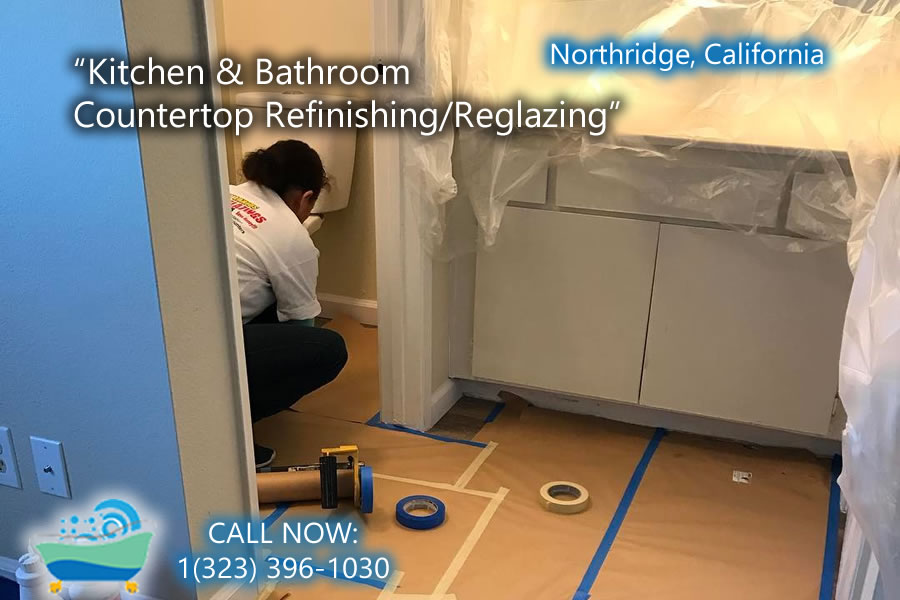 kitchen and bathrubs reglazing Northridge