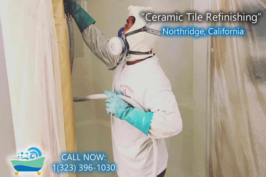 ceramic tile refiinishing Northridge california