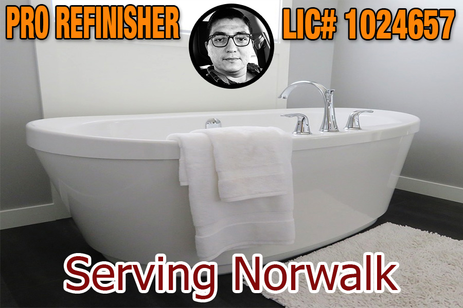 bathtub refinishing reglazing Norwalk