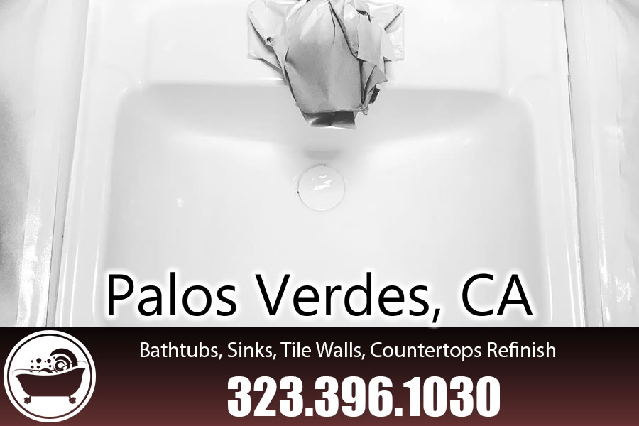 ceramic tile refinishing Palos Verdes california