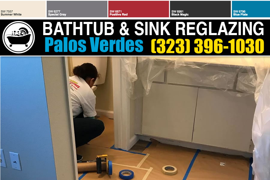 bathtub refinishing reglazing Palos Verdes