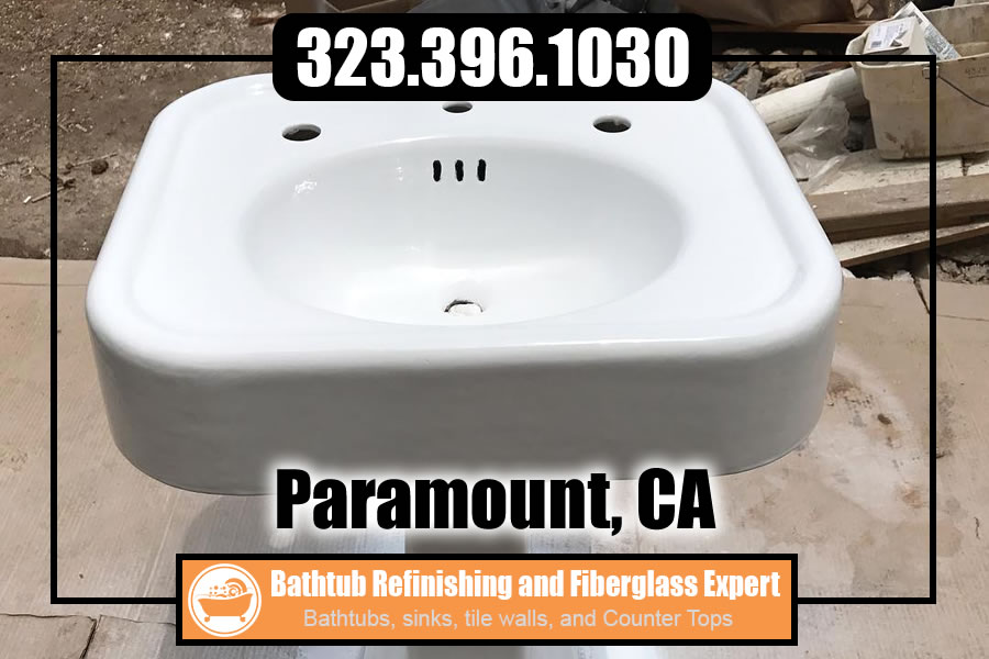 bathtub refinishing reglazing Paramount