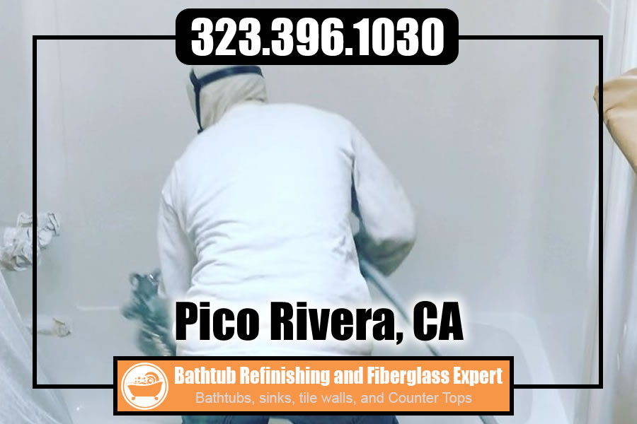 bathtub refinishing reglazing Pico Rivera