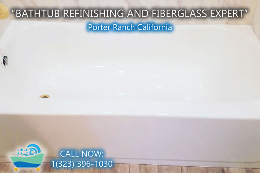 bathtub refinishing reglazing Porter Ranch