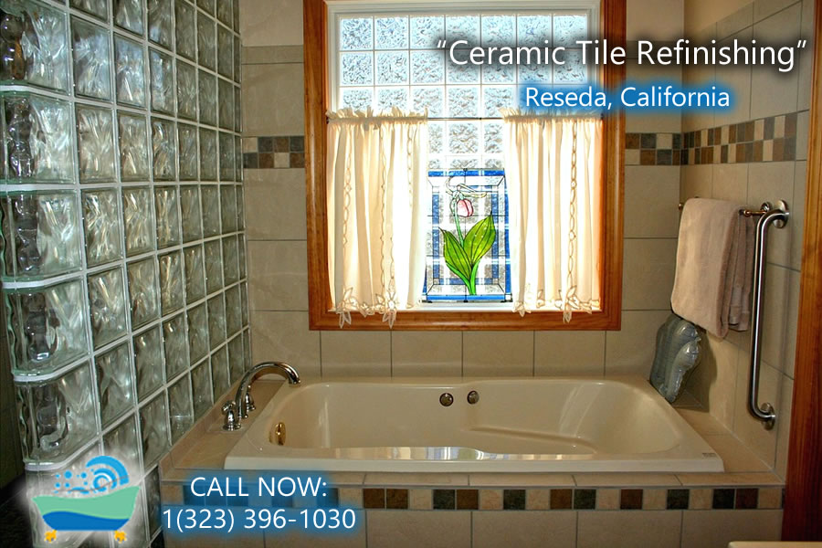 ceramic tile refiinishing Reseda california