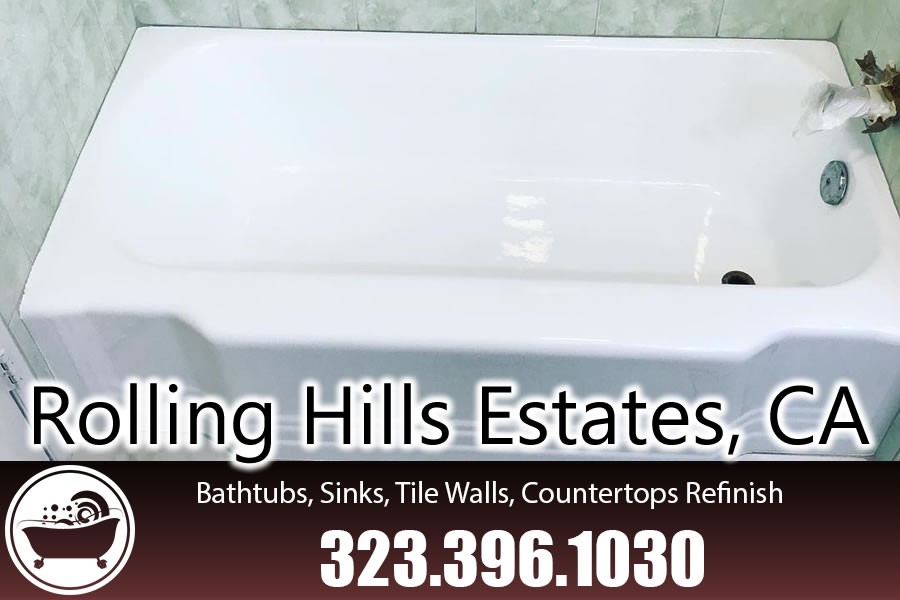 bathtub refinishing reglazing Rolling Hills Estates