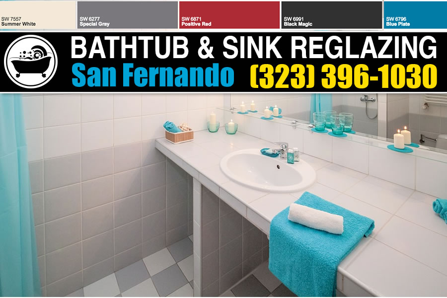 kitchen and bathrubs reglazing San Fernando