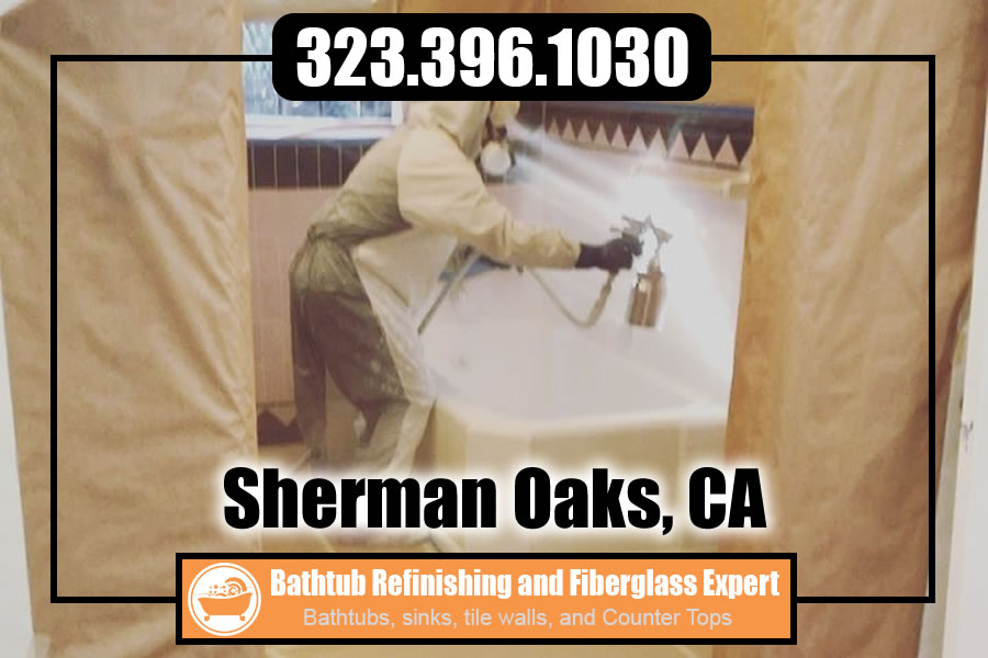 ceramic tile refinishing Sherman Oaks california