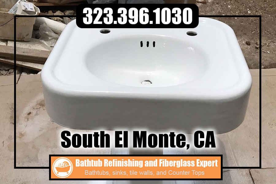 bathtub refinishing reglazing South El Monte