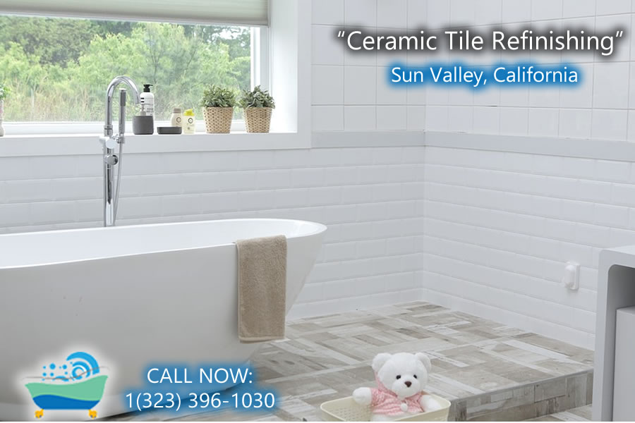 ceramic tile refiinishing Sun Valley california