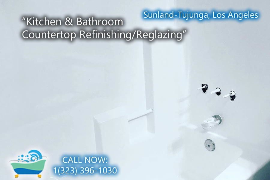 kitchen and bathrubs reglazing Sunland-Tujunga