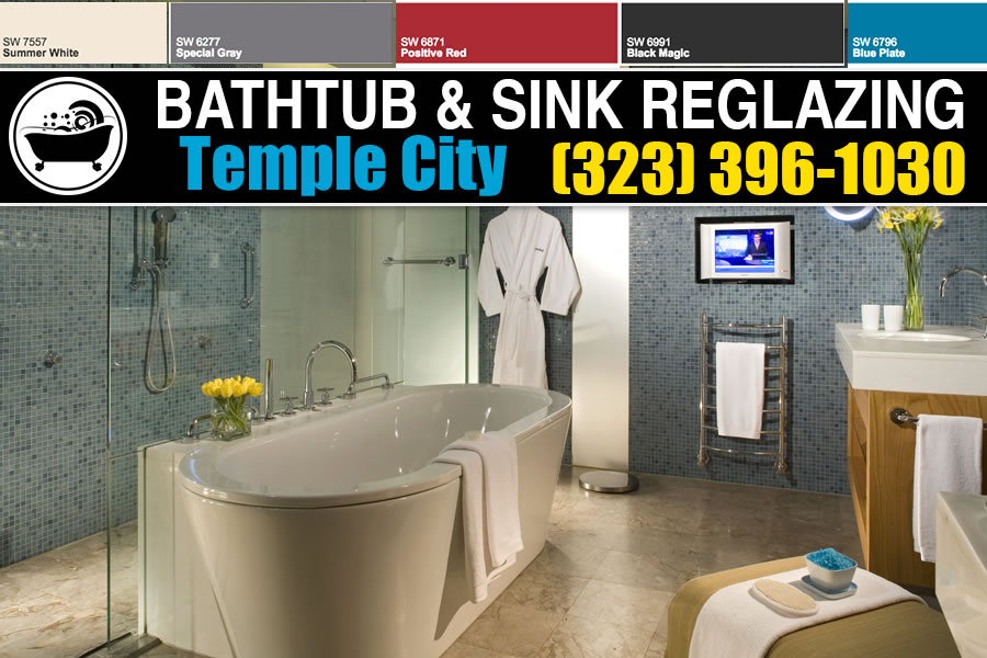 bathtub refinishing reglazing Temple City