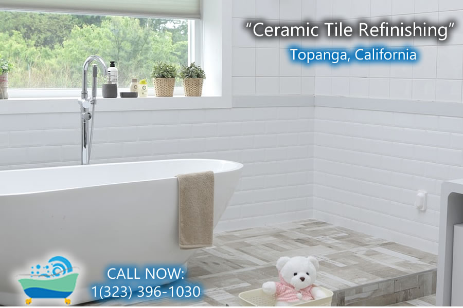 ceramic tile refiinishing Topanga california
