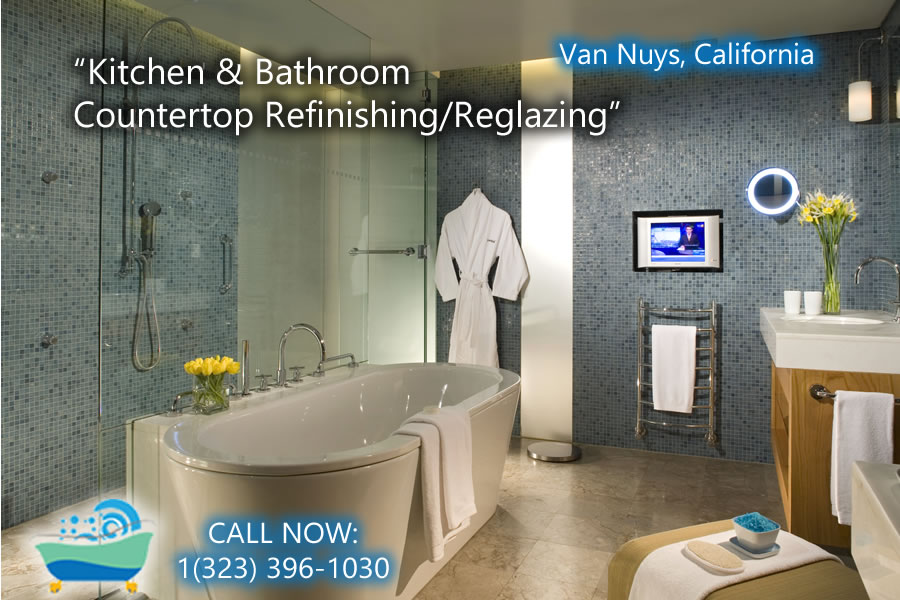 kitchen and bathrubs reglazing Van Nuys
