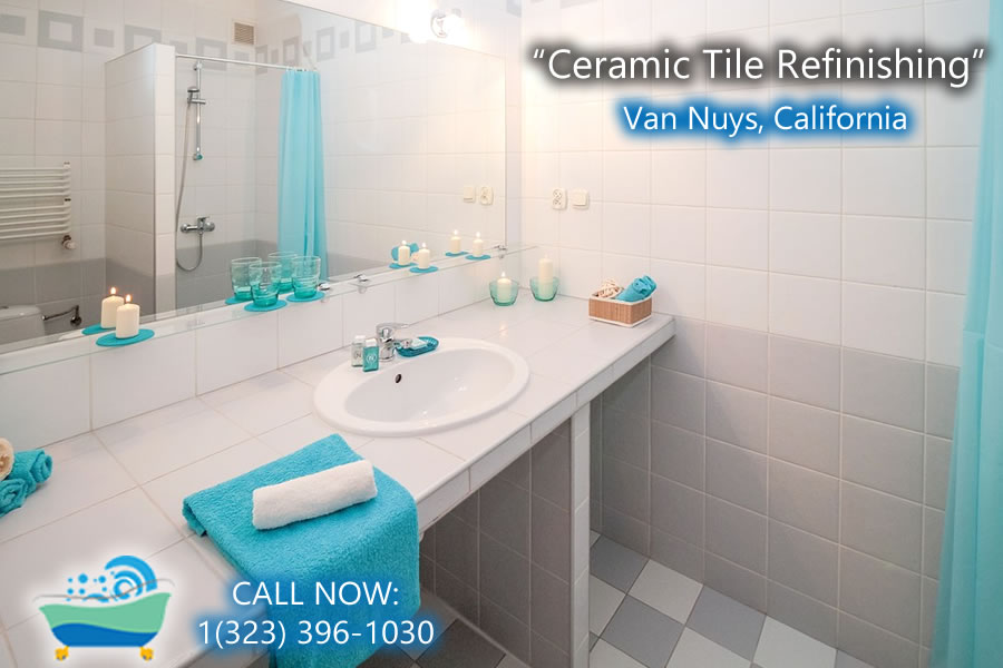 ceramic tile refiinishing Van Nuys california