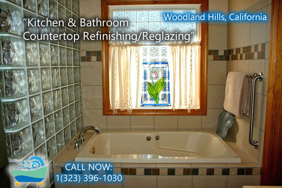 kitchen and bathrubs reglazing Woodland Hills