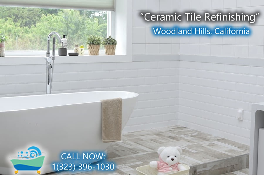 ceramic tile refiinishing Woodland Hills california
