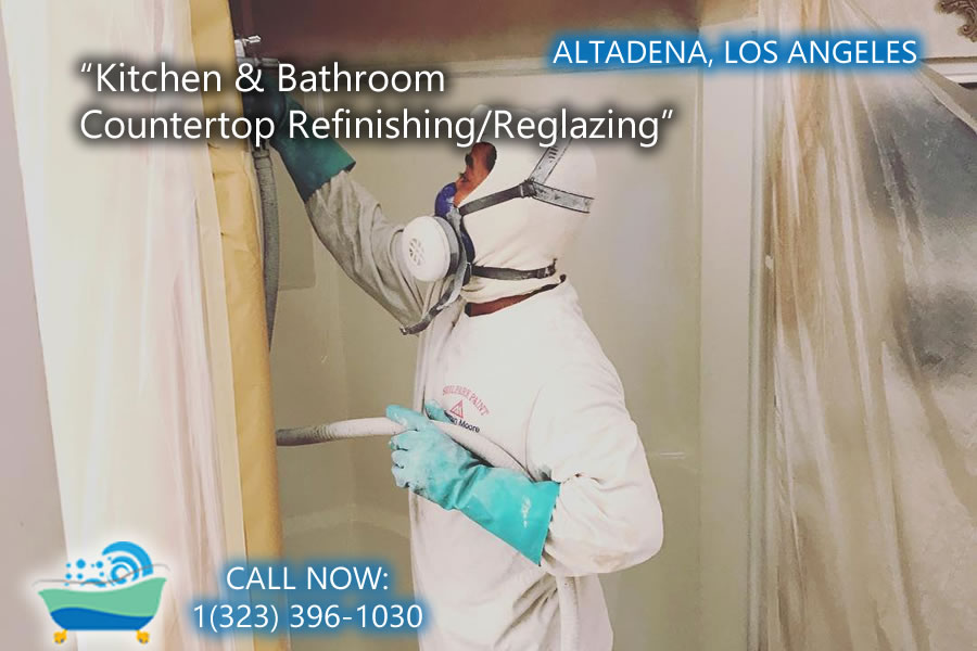 kitchen and bathrubs reglazing Altadena