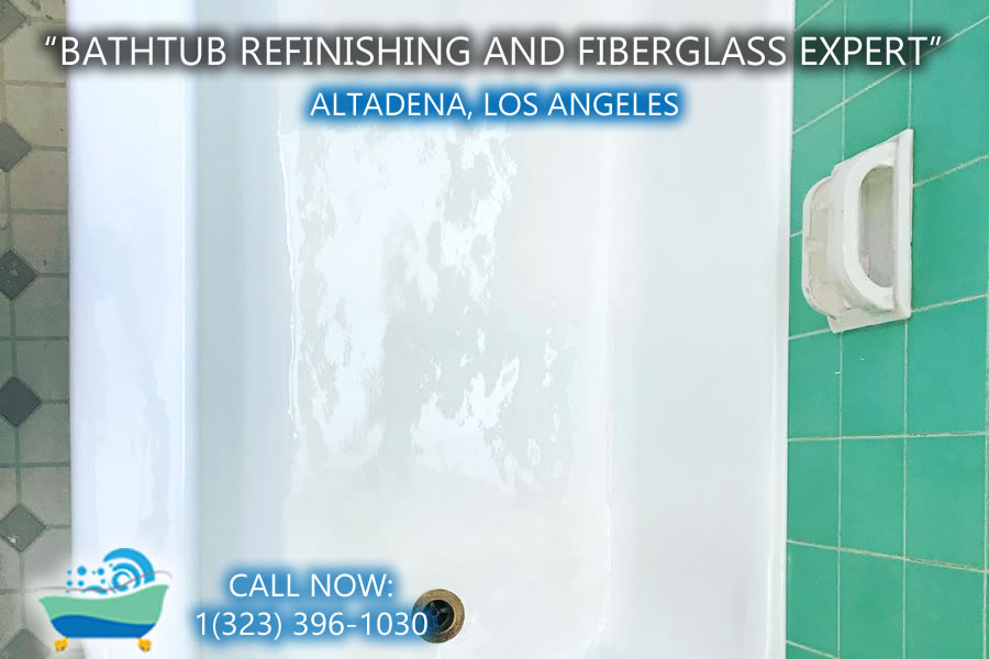 bathtub refinishing reglazing Altadena