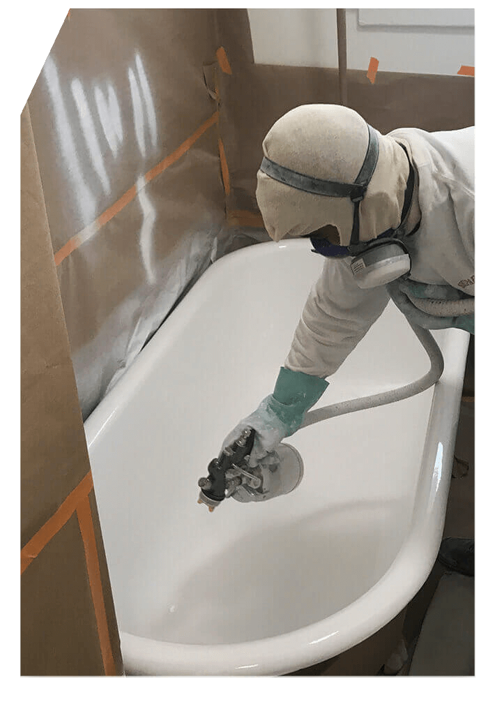 bathtub refinishing Los Angeles California