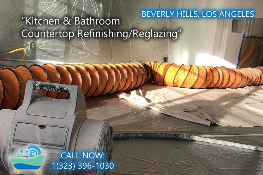 Beverly Hills kitchen and bathrubs reglazing
