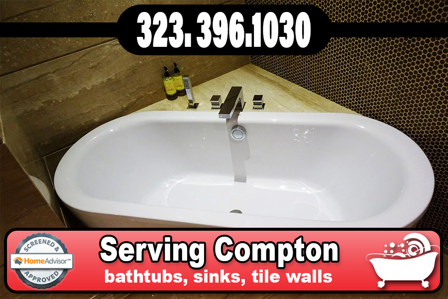 bathtub refinishing reglazing Compton