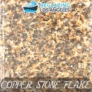 Copper Stone Metal Flake