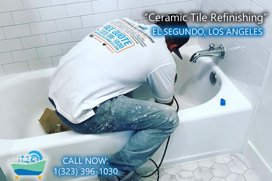 el segundo ceramic tile refiinishing